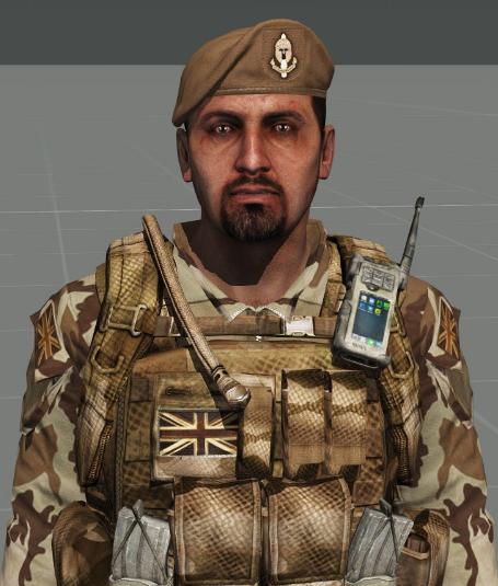 British Elite Recon Unit