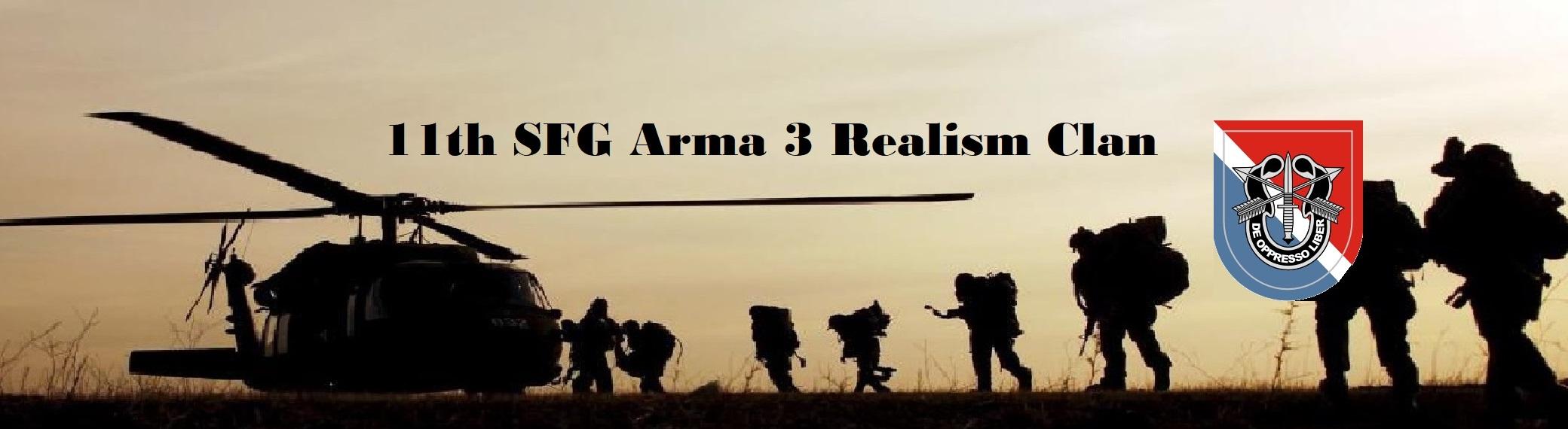 11th SFG / Arma 3 Realism Clan